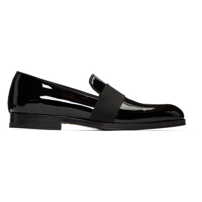 Photo: Paul Smith Black Patent Rudyard Loafers
