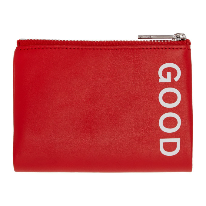 Photo: PS by Paul Smith Red Good Zip Card Holder
