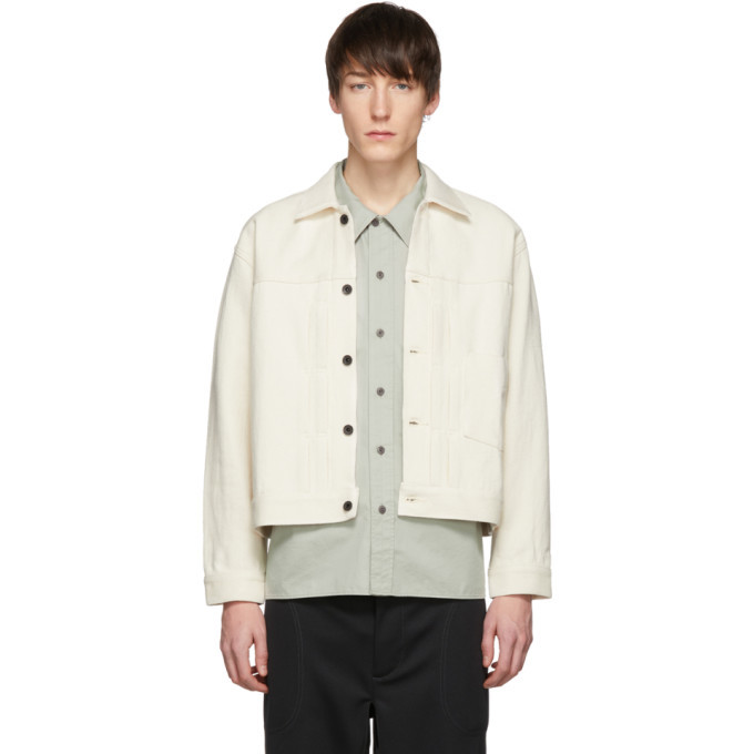 Photo: Kuro Off-White Loose Denim Big Jacket