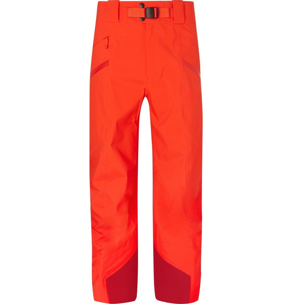 Photo: Arc'teryx - Sabre Shell-Trimmed GORE-TEX Trousers - Men - Orange