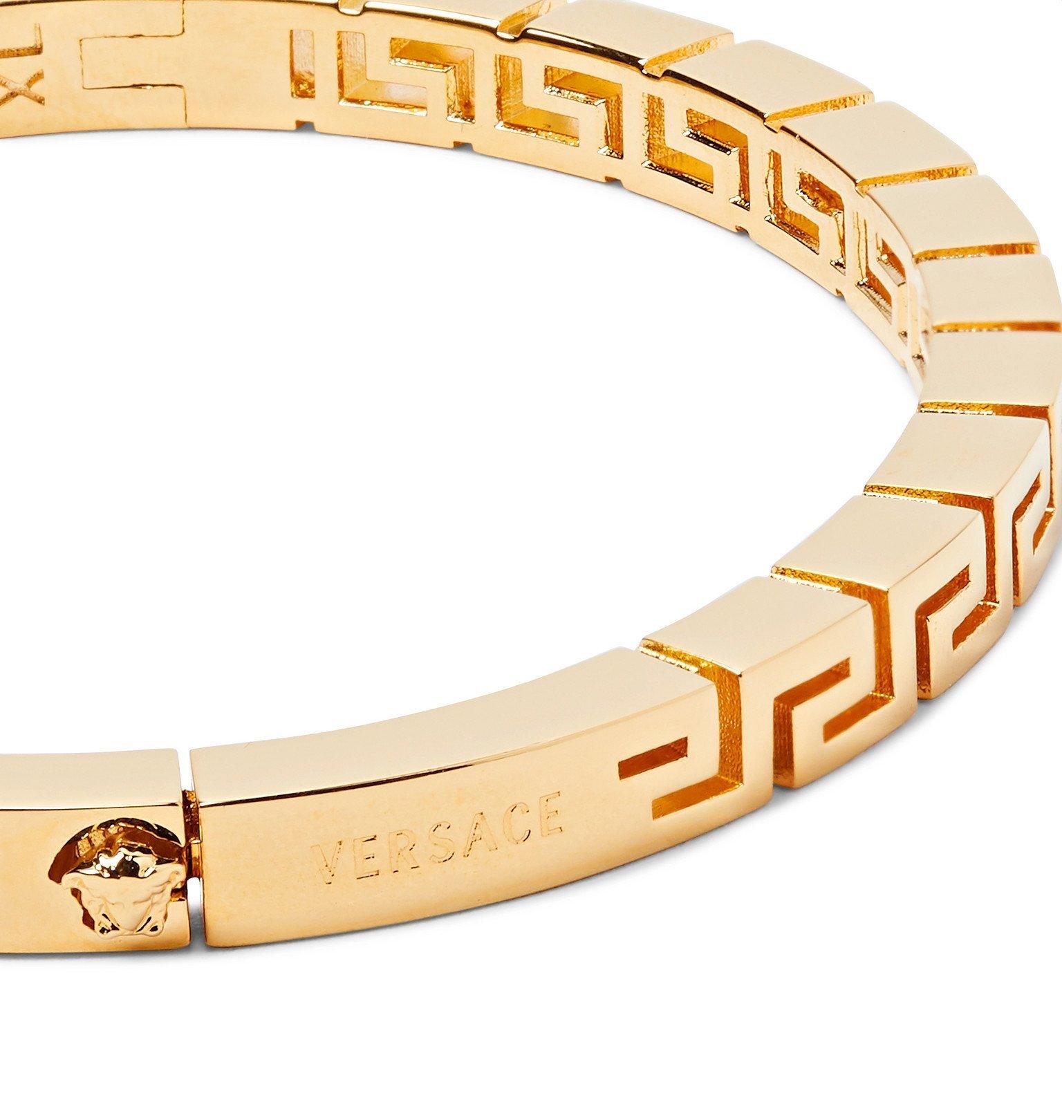 Versace - Meander Gold-Tone Bangle - Gold