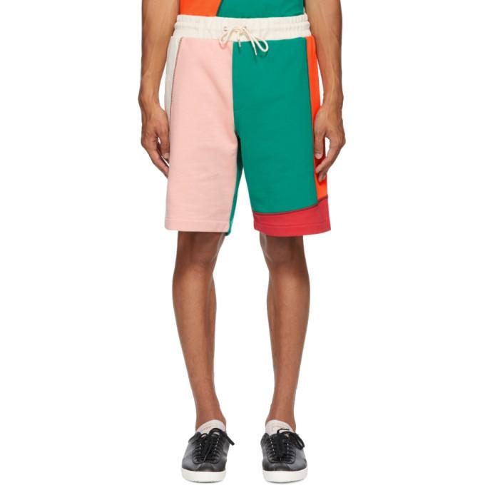 Photo: McQ Alexander McQueen Multicolor Patchwork Shorts