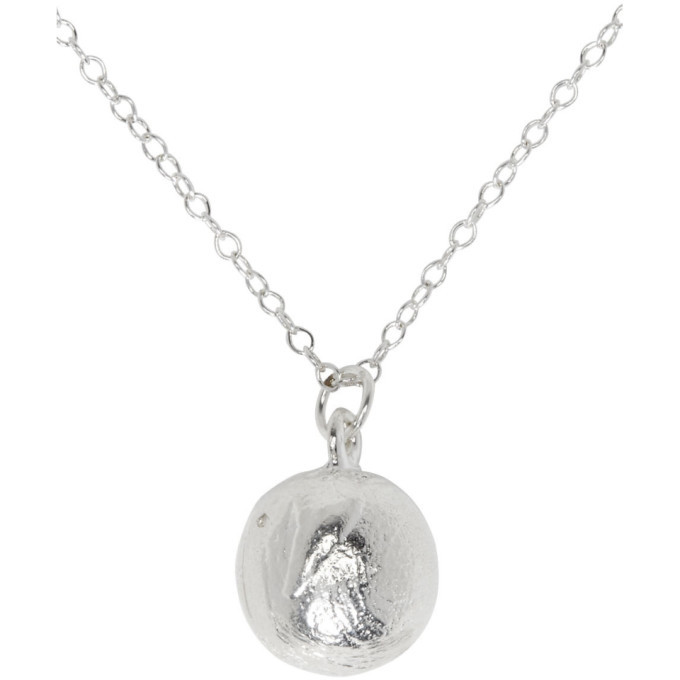 Alighieri SSENSE Exclusive Silver The Character Assassin Necklace