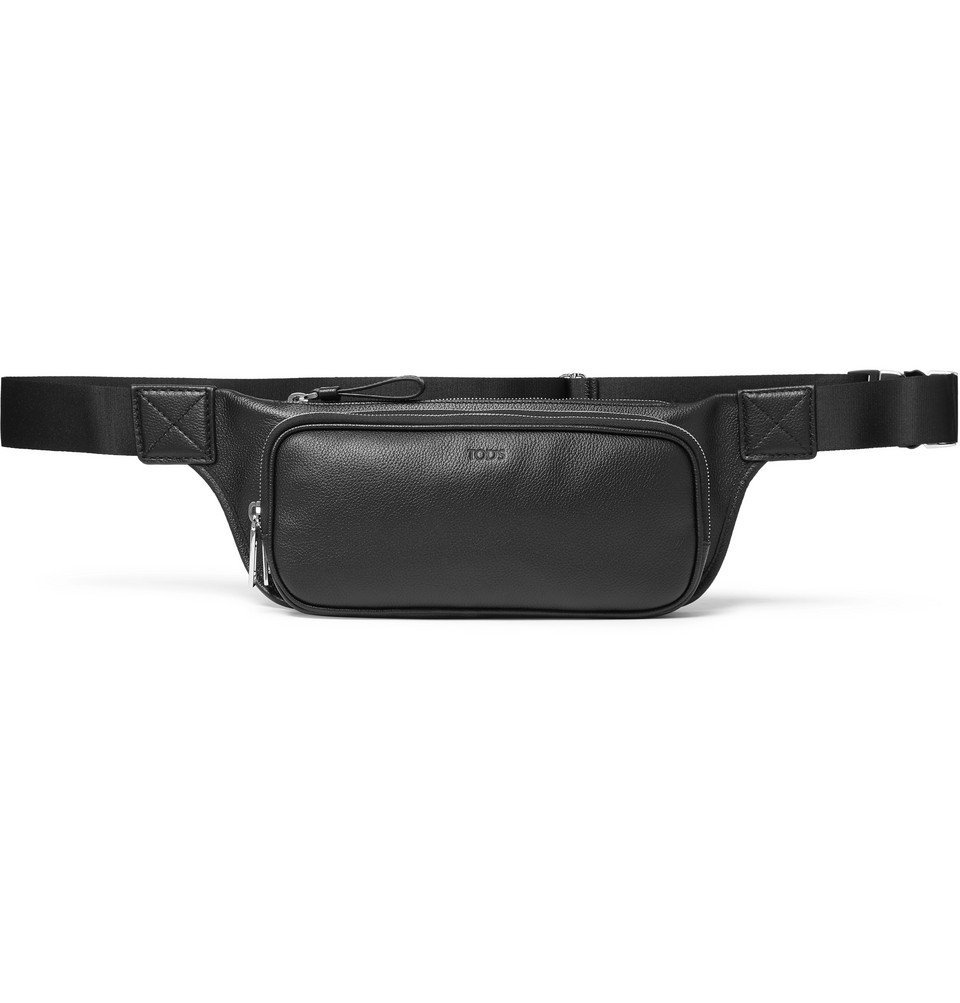Photo: Tod's - Full-Grain Leather Belt Bag - Black