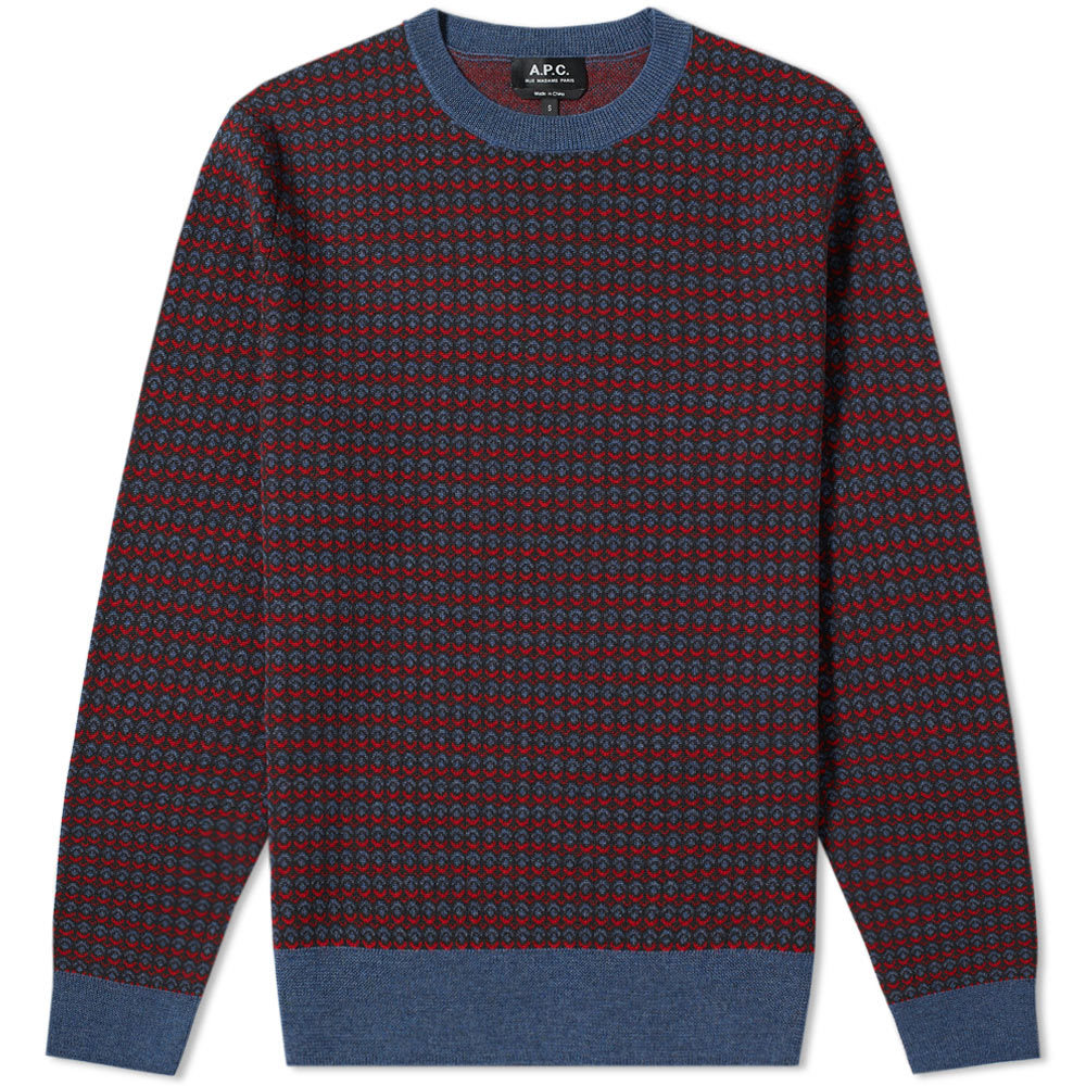 Photo: A.P.C Dito Textured Crew Knit