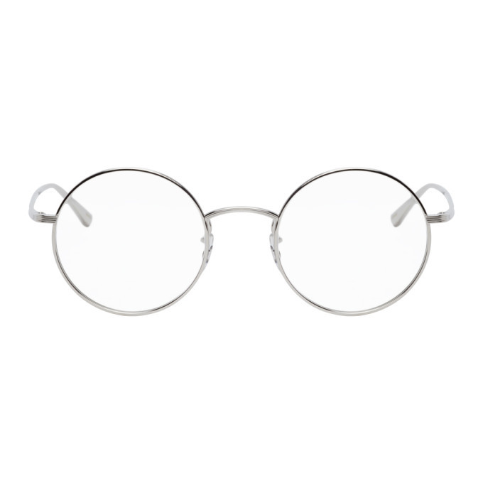 Oliver Peoples Silver The Row Edition After Midnight Glasses