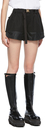 Sacai Black Cotton & Nylon Track Shorts