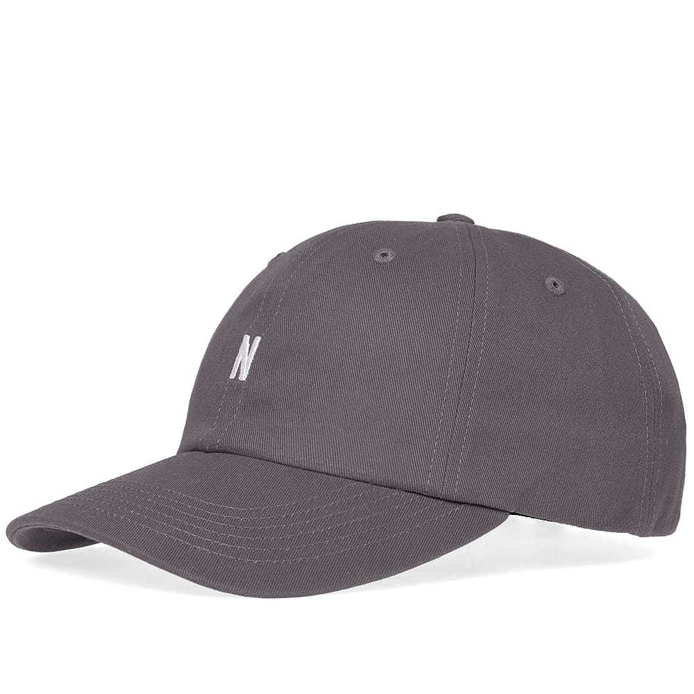Photo: Norse Projects Twill Sports Cap Grey
