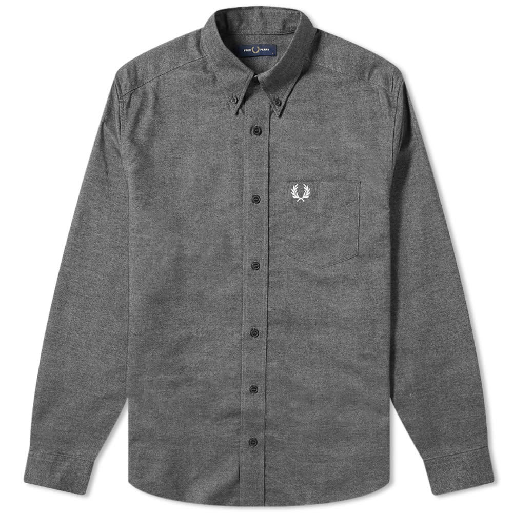 Photo: Fred Perry Authentic Button Down Brushed Oxford Shirt