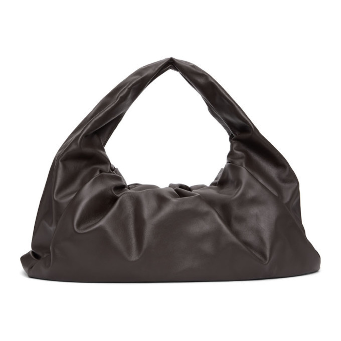 Photo: Bottega Veneta Brown The Shoulder Pouch Bag