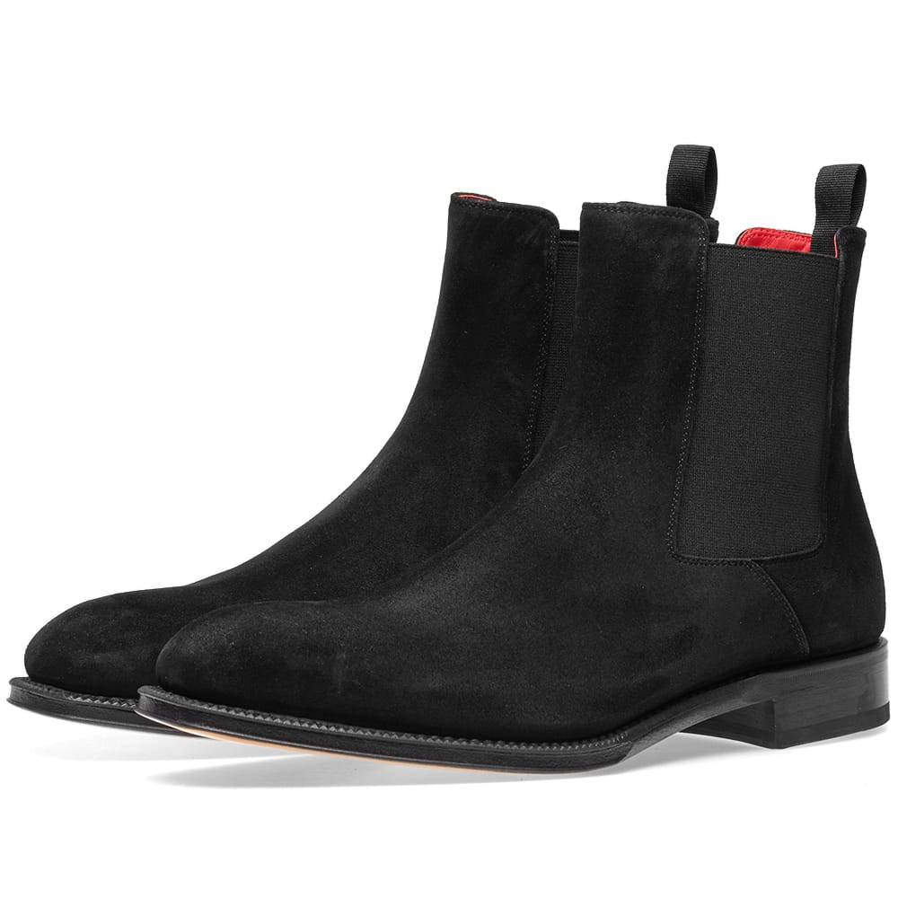 Photo: Alexander McQueen Chelsea Boot Black