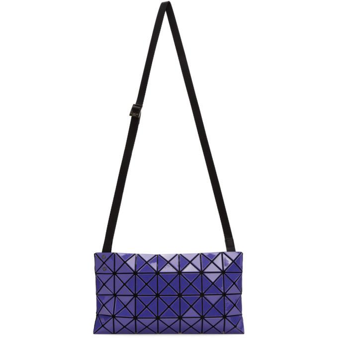 Photo: Bao Bao Issey Miyake Blue Gloss Prism Messenger Bag