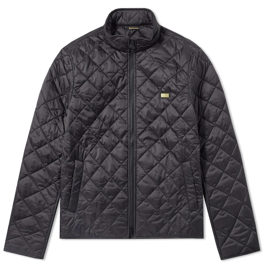 Photo: Barbour International Quilt Gear Jacket Black