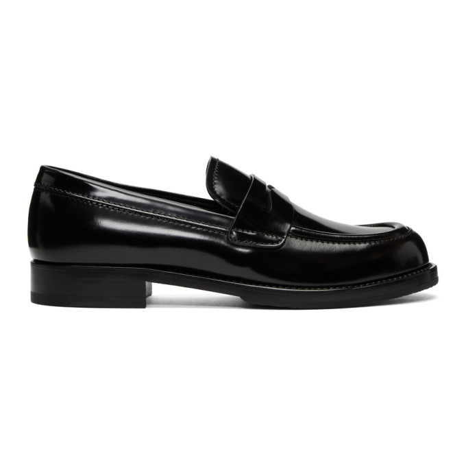 Photo: Prada Black Moccasin Loafers