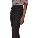 3.1 Phillip Lim Black Cropped Belted Trousers