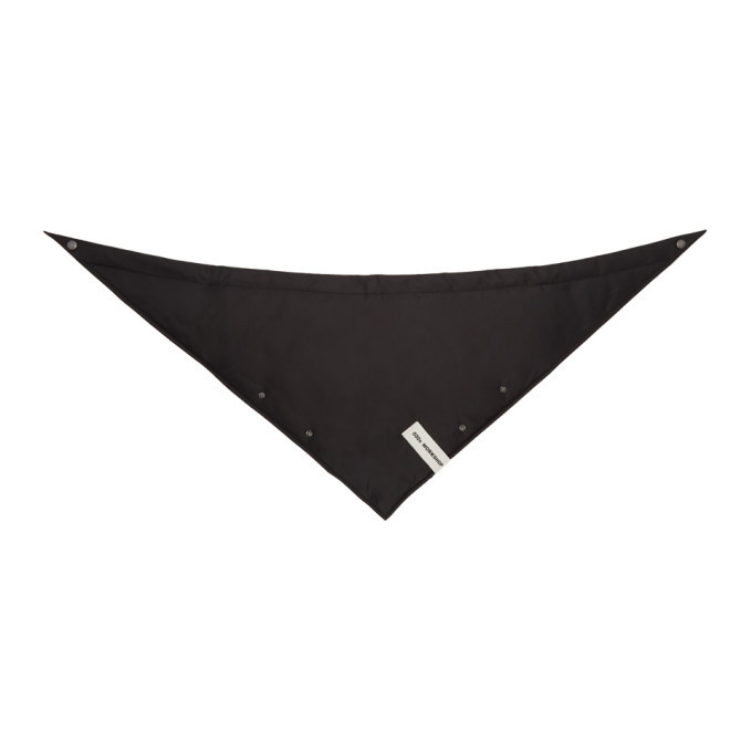 Photo: 032c Black Cosmic Workshop Triangle Scarf
