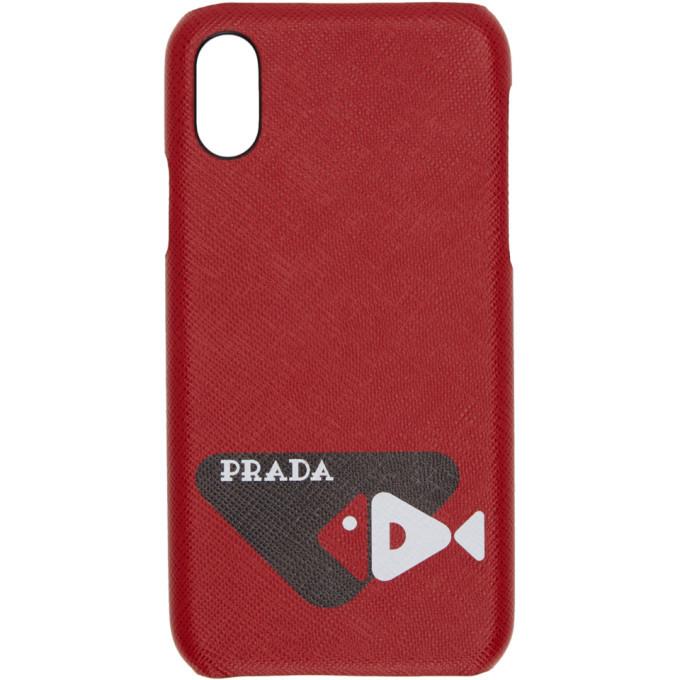 Photo: Prada Red Fish iPhone X Case