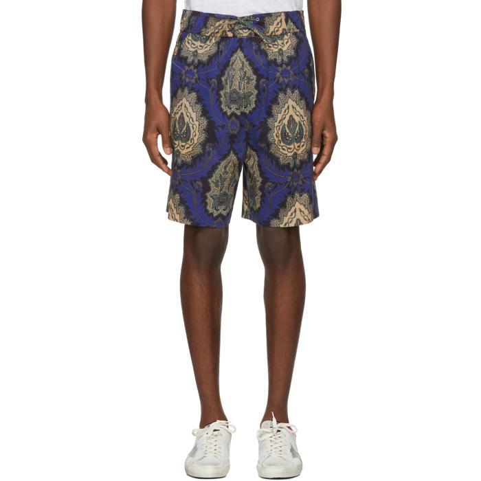 Photo: Isabel Marant Blue Iboh Tahatai Light Shorts