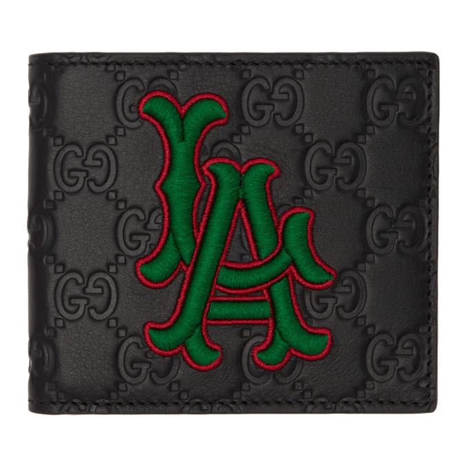Photo: Gucci Black LA Angels Edition GG Wallet