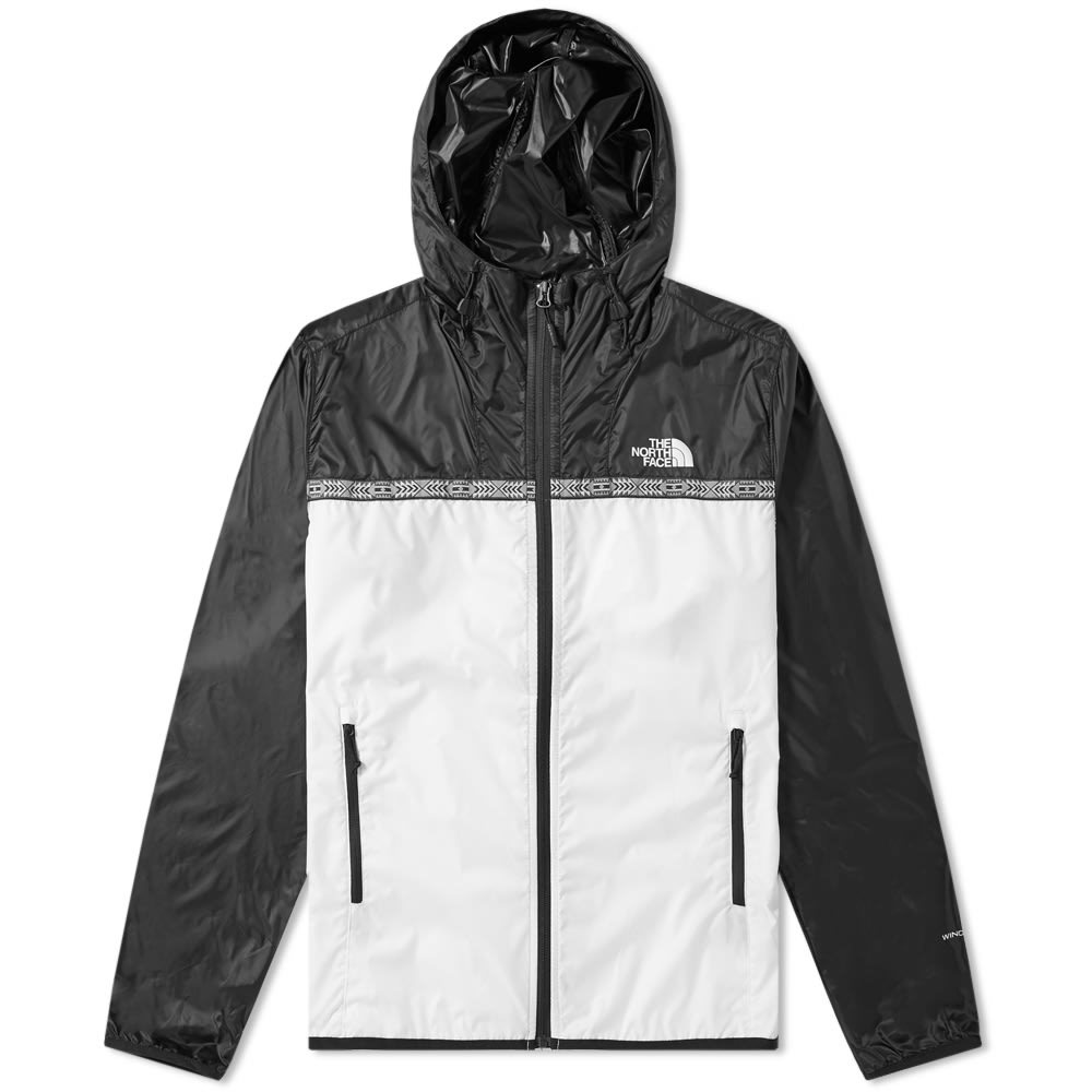 Photo: The North Face Novelty Cyclone 2.0 Jacket White & Black