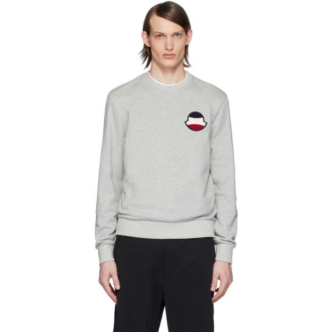 Photo: Moncler Grey Logo Sweatshirt