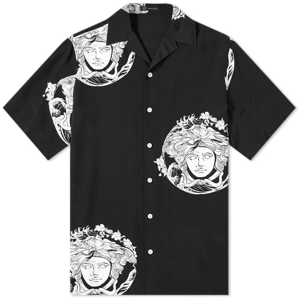 Photo: Versace Japanese Wave Medusa Vacation Shirt