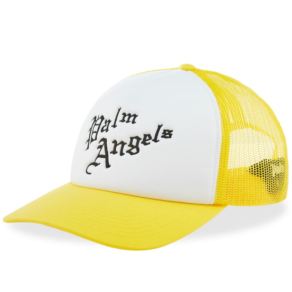 Photo: Palm Angels New Gothic Logo Cap