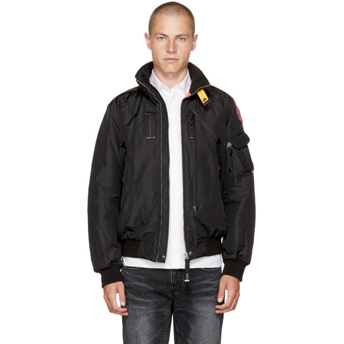 Parajumpers Black Masterpiece Fire Jacket