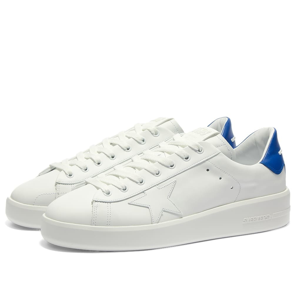 Photo: Golden Goose Pure Star Leather Sneaker