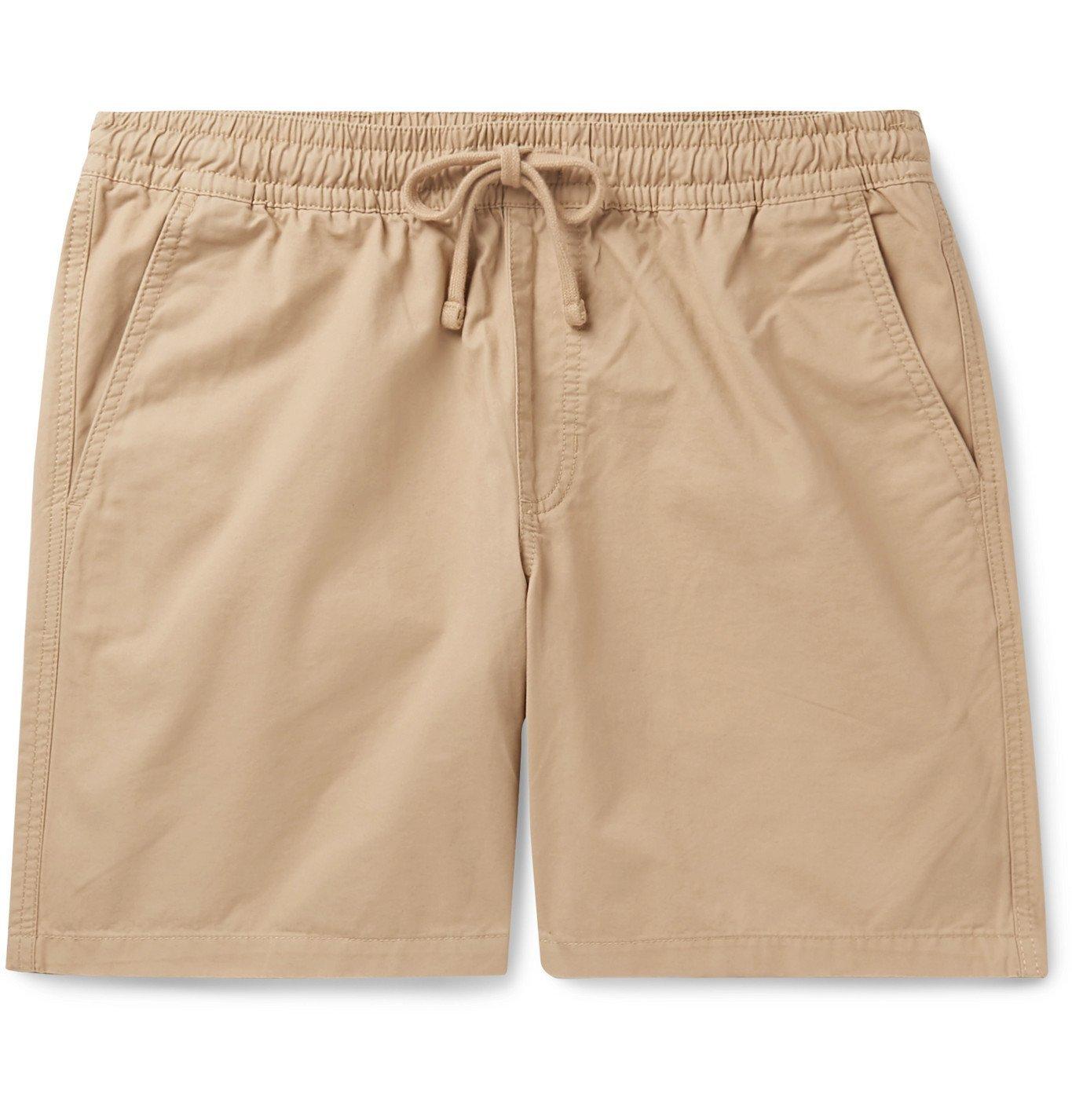 Photo: Vans - Range Cotton-Twill Drawstring Shorts - Neutrals