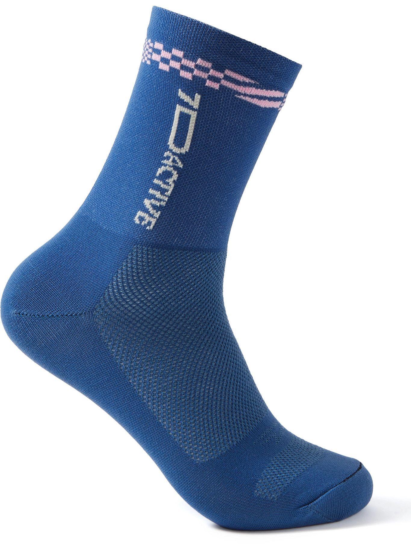 Photo: 7 DAYS ACTIVE - Argon 18 Stretch-Knit Socks - Blue