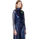 adidas Originals Indigo Anna Isoniemi Edition Sequinned Turtleneck