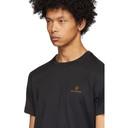 Belstaff Black Embroidered Logo T-Shirt