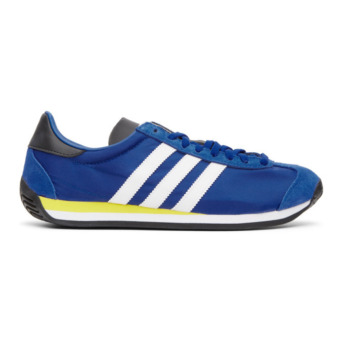Photo: adidas Originals Blue Country OG Sneakers
