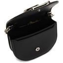 3.1 Phillip Lim Black Mini Alix Card Case Bag