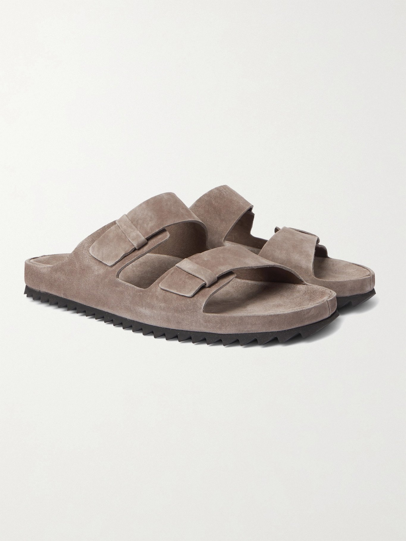 Photo: OFFICINE CREATIVE - Agora Suede Sandals - Brown
