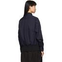 Sacai Black and Navy Shirt Sweatshirt