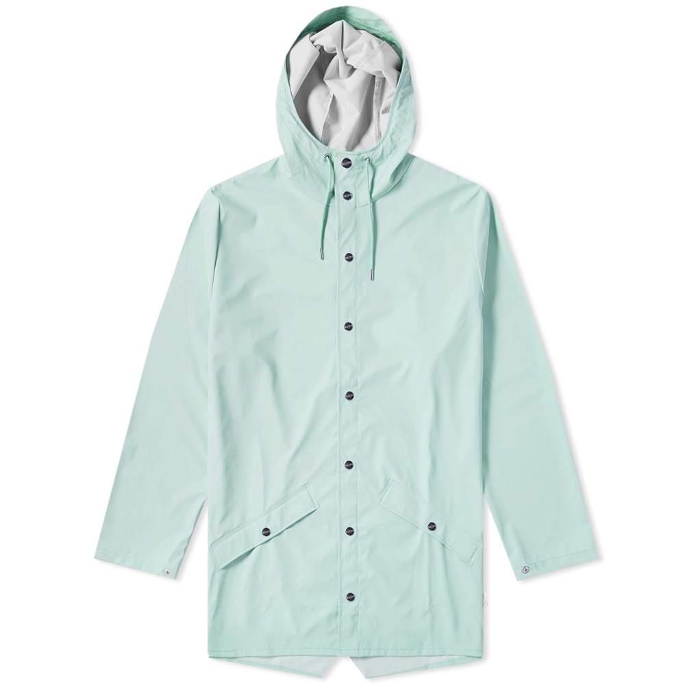 Photo: Rains Long Jacket Dusty Mint