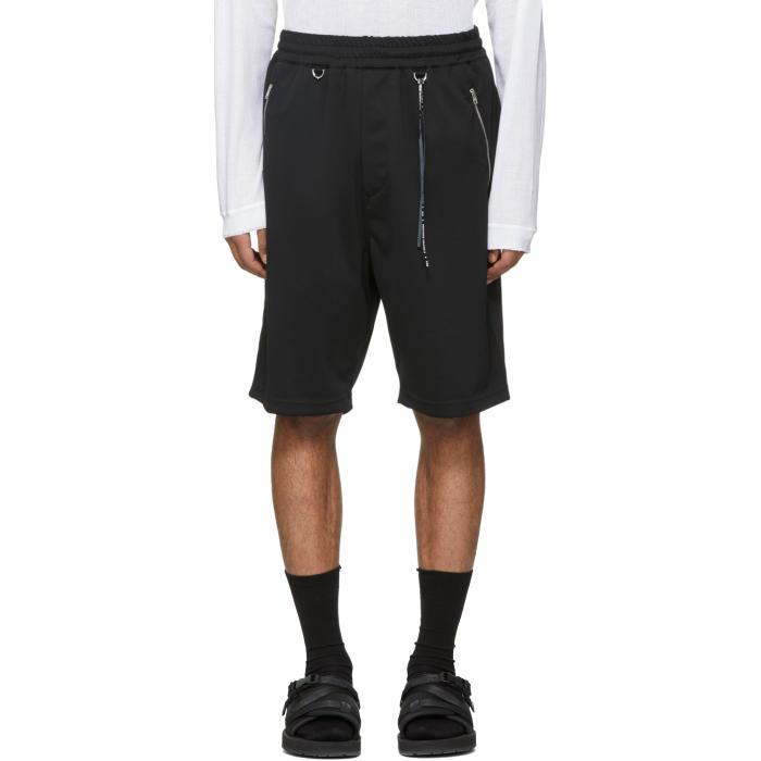 Photo: mastermind WORLD Black Jersey Shorts