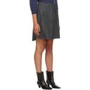 Max Mara Grey Polder Miniskirt
