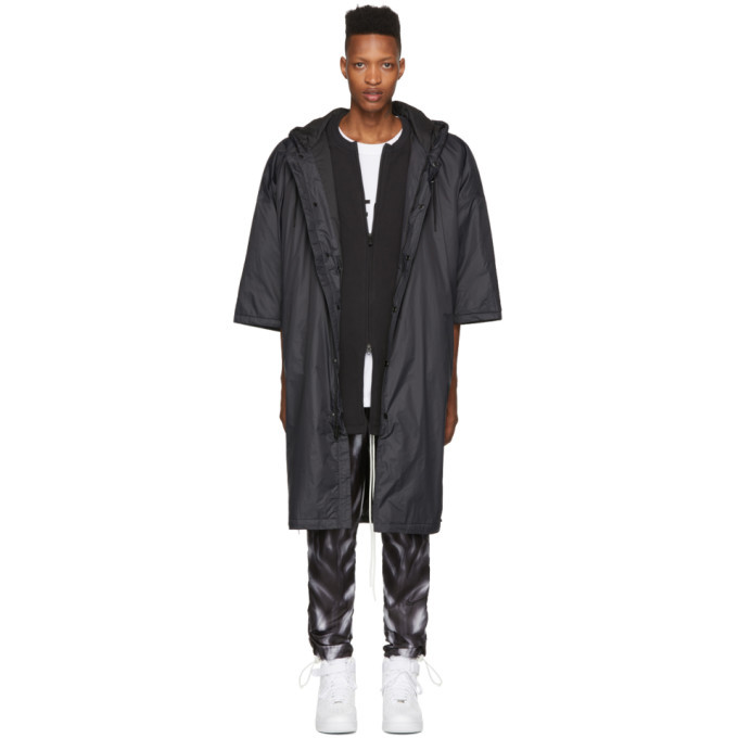 Photo: Nike Black Fear of God Edition Nylon Parka