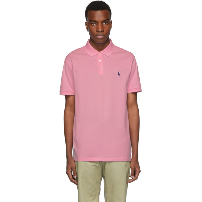 Photo: Polo Ralph Lauren Pink Stretch Mesh Polo