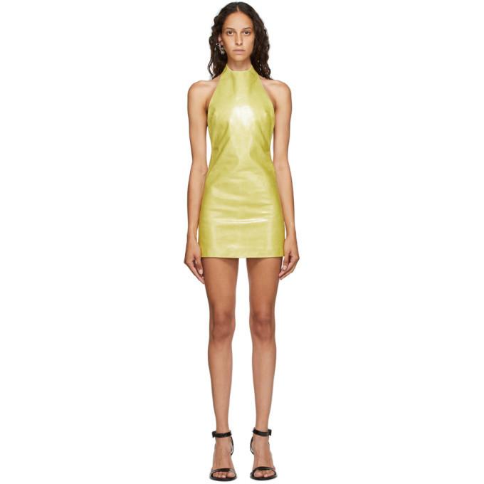 Photo: Mowalola Yellow JC Dress