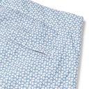 Sunspel - Leaf Geo Mid-Length Printed Shell Swim Shorts - Men - Light blue