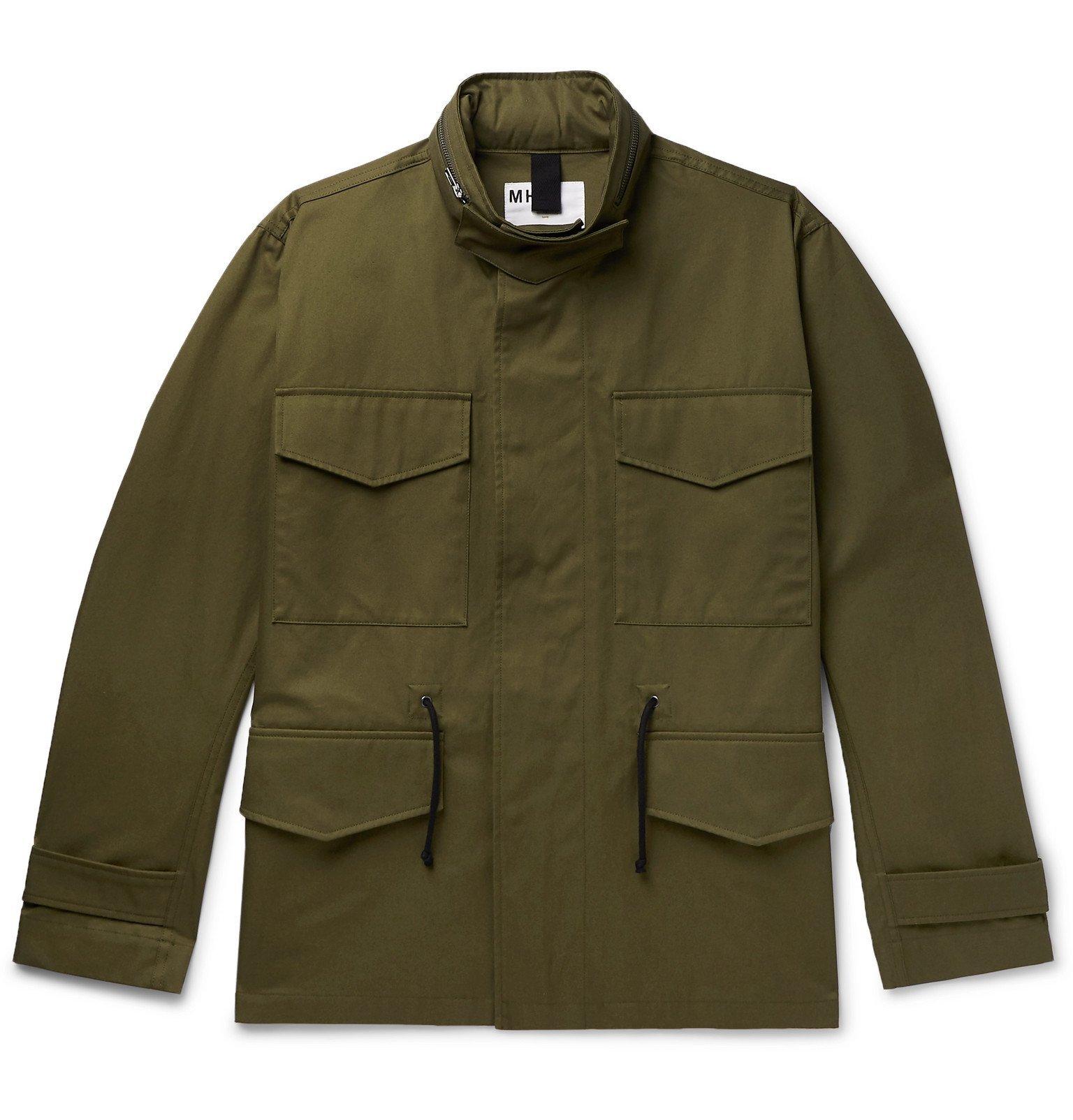 Margaret Howell - Cotton-Twill Field Jacket - Green