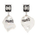 Jiwinaia Black Pearl Numb Earrings