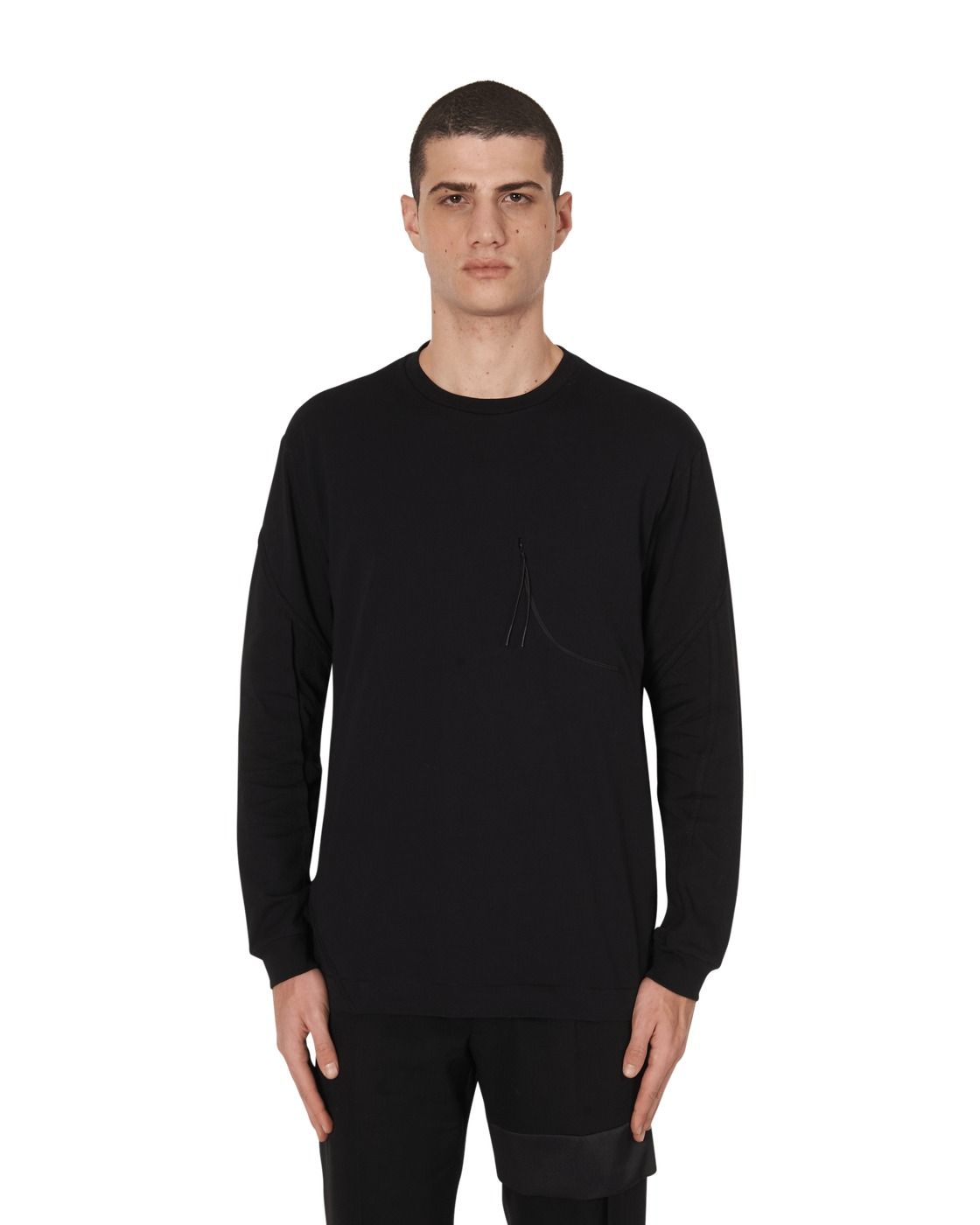 Photo: 1017 Alyx 9sm Axis Long Sleeve T Shirt Black