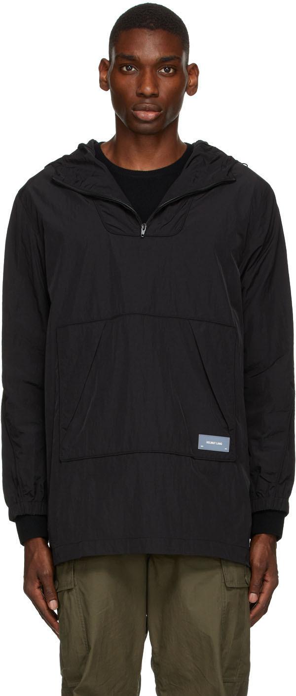 Photo: Helmut Lang Black Packable Anorak Jacket