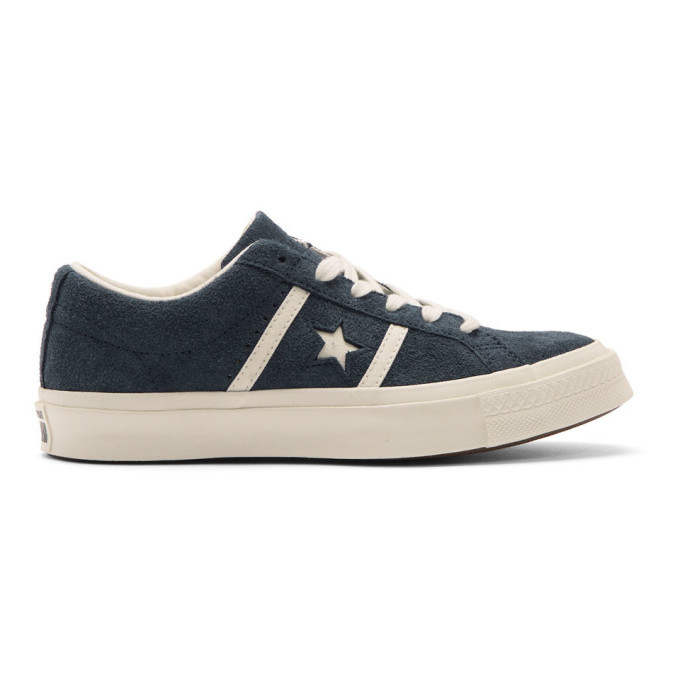 Photo: Converse Blue One Star Ox Academy Time Capsule Sneakers