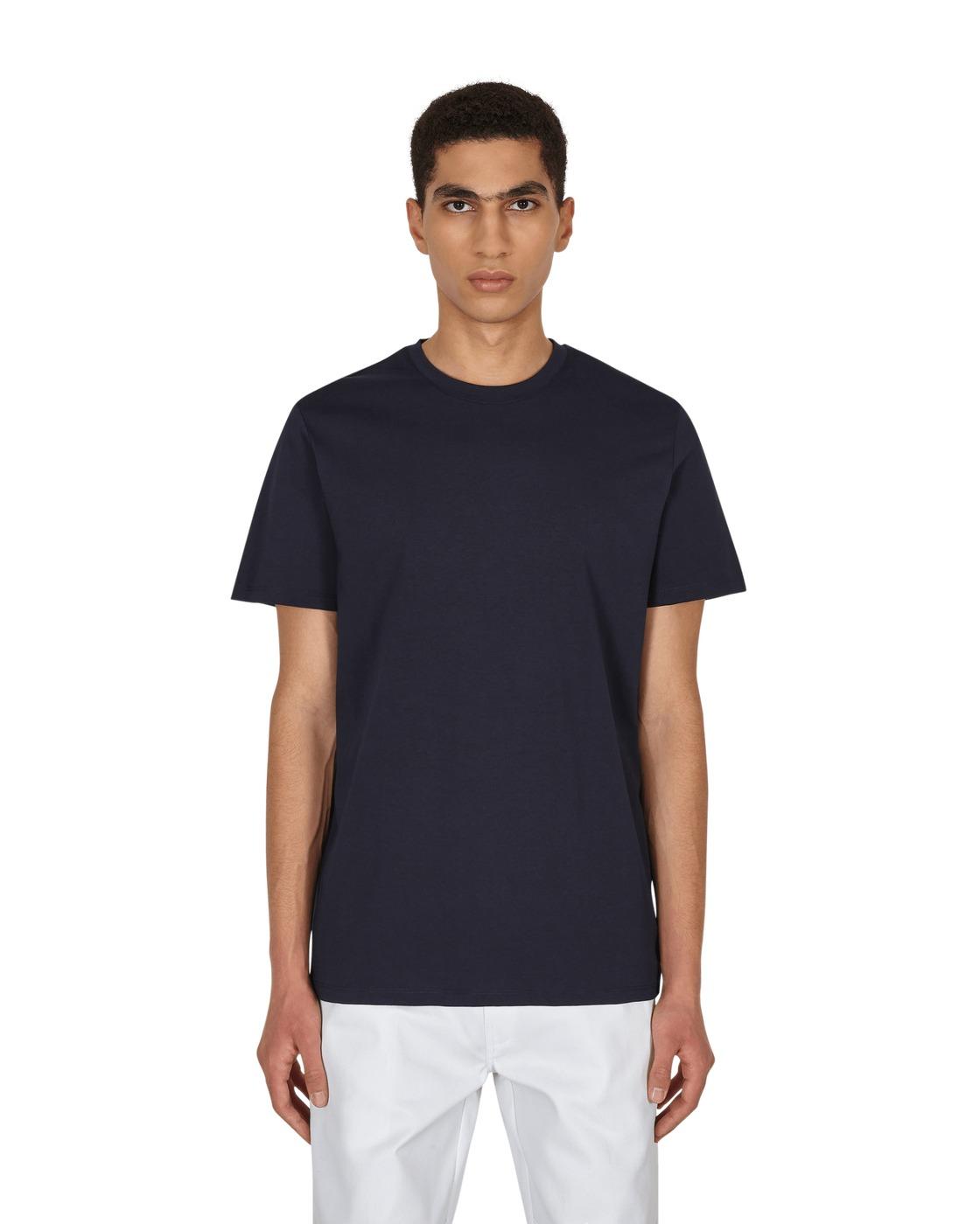 Photo: A.P.C. Jimmy T Shirt Iak Dark Navy